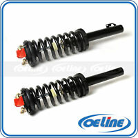 2x Complete Front Struts Coil Springs w// Mounts For 02-09 Chevrolet Trailblazer