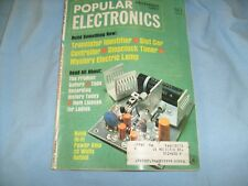 Popular Electronics Magazine March 1967 - Slot car, Hi Fi  , CB Rig / d9
