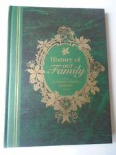 NEW Family History Record Book Treasury Family Memories