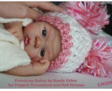 ❤️Reborn Doll Baby❤️ Custom Made From Bailey Kit By Sandy Faber ❤️Ready July