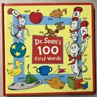 Dr. Seuss's 100 First Words Board book – May 8, 2018 by Dr. Seuss - NEW