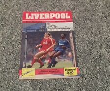 62) Liverpool v Norwich  City  division one 17-12-1988