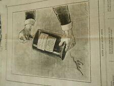 Typo 1883 - La Bouteille à encre Agiter avant de s'en servir