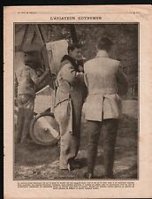 WWI Capitainre Guynemer Avion Plane SPAD/Deutsches Heer Somme 1916 ILLUSTRATION