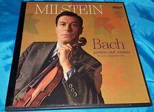 Original NATHAN MILSTEIN bach sonatas & partitas 3 LP Box -  PCR 8370 - Mono USA