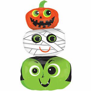 Cute Halloween Foil Balloon Inflatable Spooky Party Decor Vampire Mummy Pumpkin