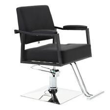 Black Hydraulic Hair Stylist Stations Barber Chair Salon&Spa Beauty Equipment