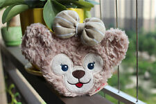 New Tokyo Disney Duffy Bear Shellie May Plush Toy Coin Bag Case Wallet