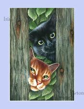Gato De Impresión curioso Chaps By Irina garmashova