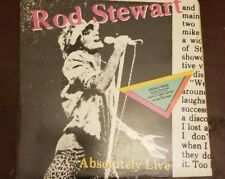 2-LP, Rod Stewart, Absolutely Live, Warner Brothers