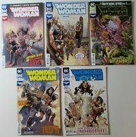 WONDER WOMAN # 52 55 57 59 61 Five Nm DC Comics Comic books Lot