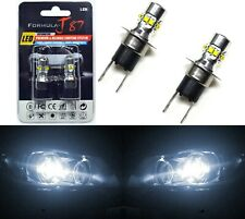 LED 50W H3C 64146BC White 5000K Two Bulbs Fog Light Replacement OE Lamp JDM