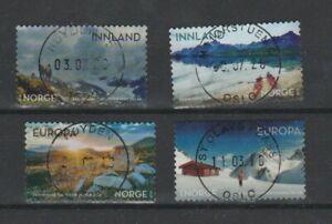 2018 NORWAY Turistforeningen 150 years, NK 1986-89 complete Used set