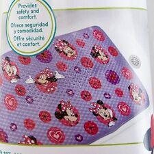 Minnie Mouse Purple Bath Mat for Tub