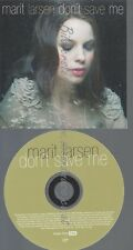 PROMO CD--MARIT LARSEN--DONT SAVE ME--1TR