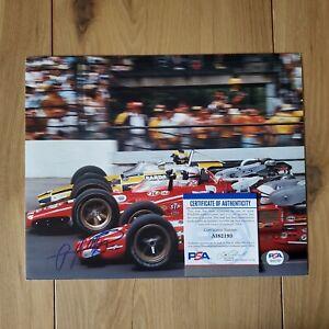 AJ Foyt Indy Signed Autographed 8x10 Photo COA PSA/DNA #AI82193