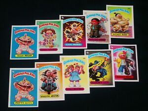 GARBAGE PAIL KIDS 1985 2nd Series Complete JOEL/MIKE Set GLOSSY 84 Cards VG -OS2