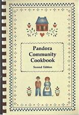 *RILEY TOWNSHIP MI 1992 PANDORA COMMUNITY COOK BOOK *FIRE DEPARTMENT AUXILIARY