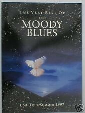 MOODY BLUES usa tour summer 1997 tour programme 28 pages