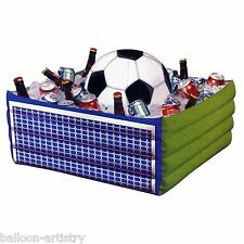 Inflatable World FOOTBALL Soccer Sports Summer BBQ Party Drinks Cooler