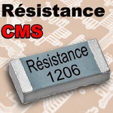 résistance CMS 1206: 1k 1,2K 1,5K 2,2K 2,7K 3,3K 3,9K 4,7K 5,6K  6,8K 8,2K
