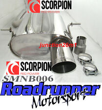Scorpion Mini Cooper R56 Back Box Rear Silencer Exhaust Stainless Steel MK2 1.6