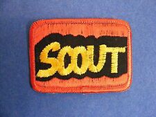 Scout Iron-on/sew-on patch