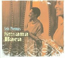 Seis Poemas [Digipak] by Susana Baca (CD, Jun-2009, Luaka Bop)