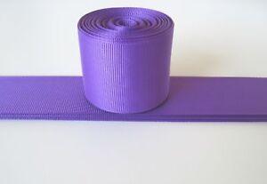 "1.5"" Grosgrain Ribbon solid colors~U Pick color~2 Yards"