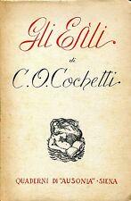 C. O. Cochetti = GLI ESÌLI