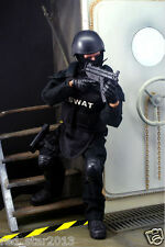 """1/6 Soldier S.W.A.T. Policeman 12"""" Action Figure Flexible Doll Model Toys"""