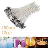 100PCs Waxed Wicks Candles DIY Making Cotton Wicks String Core 12cm High Quality