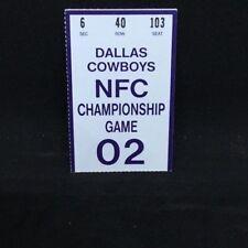Dallas Cowboys NFC Championship Game