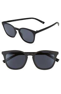 Le Specs FINE SPECIMEN Black Sunglasses with Pouch