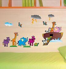 ️ North Star Wallkid101 Decorazione murale adesiva Arca di Noè Multicolore