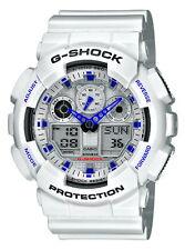 Casio G-Shock GA-100A-7AER Herrenuhr weiß