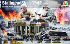 Schlacht von Stalingrad 1942 Diorama Set 1:72 Model Kit Bausatz Italeri 6193