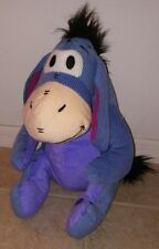 """DISNEY STORE Cord Eeyore Plush 15"""" New with Tag Removeable Tail"""