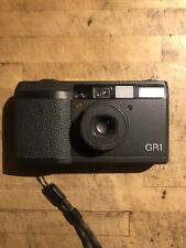 Ricoh GR1 Point & Shoot Film Camera 28 mm lens Excellent