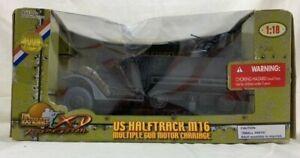ULTIMATE SOLDIER 1:18 U.S. M16 Multiple Gun Motor Carriage/HALFTRACK