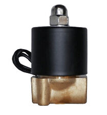 "air ride suspension 1/4""npt brass valve electric solenoid for train horn fast"