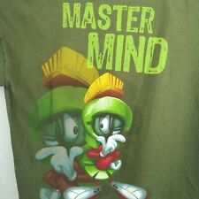 Marvin The Martian T Shirt Six Flags Distressed Vintage Large Fits Small