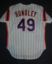 TODD HUNDLEY AUTHENTIC Rawlings NEW YORK METS Rookie Jersey 46 Piazza 1990