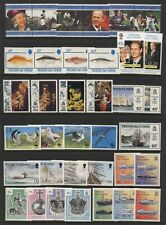 Tristan Da Cunha Collection Commemorative Stamps Sets Unmounted Mint