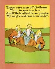 Antique Print-POEM-BABY-CRADLE-Kennedy-Costello-1902