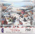 CEACO® 750pc LINDA NELSON STOCKS • SLEIGH RIDE CHRISTMAS HOLIDAY PUZZLE Jig Saw