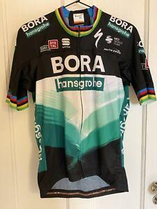 Bora Hansgrohe Peter Sagan Sportful World Champion Cycling Jersey - Mens L NWT