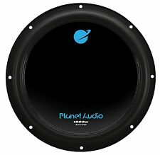 "Planet Audio 10"" 1500W Dual 4 Ohm Voice Coil Car Audio Power Subwoofer AC10D"