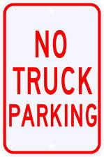3M Reflective No Truck Parking Street Sign Dot Municipal Grade 12 x 18