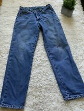 MENS LL BEAN FLANNEL LINED JEANS 32 X 32 C3